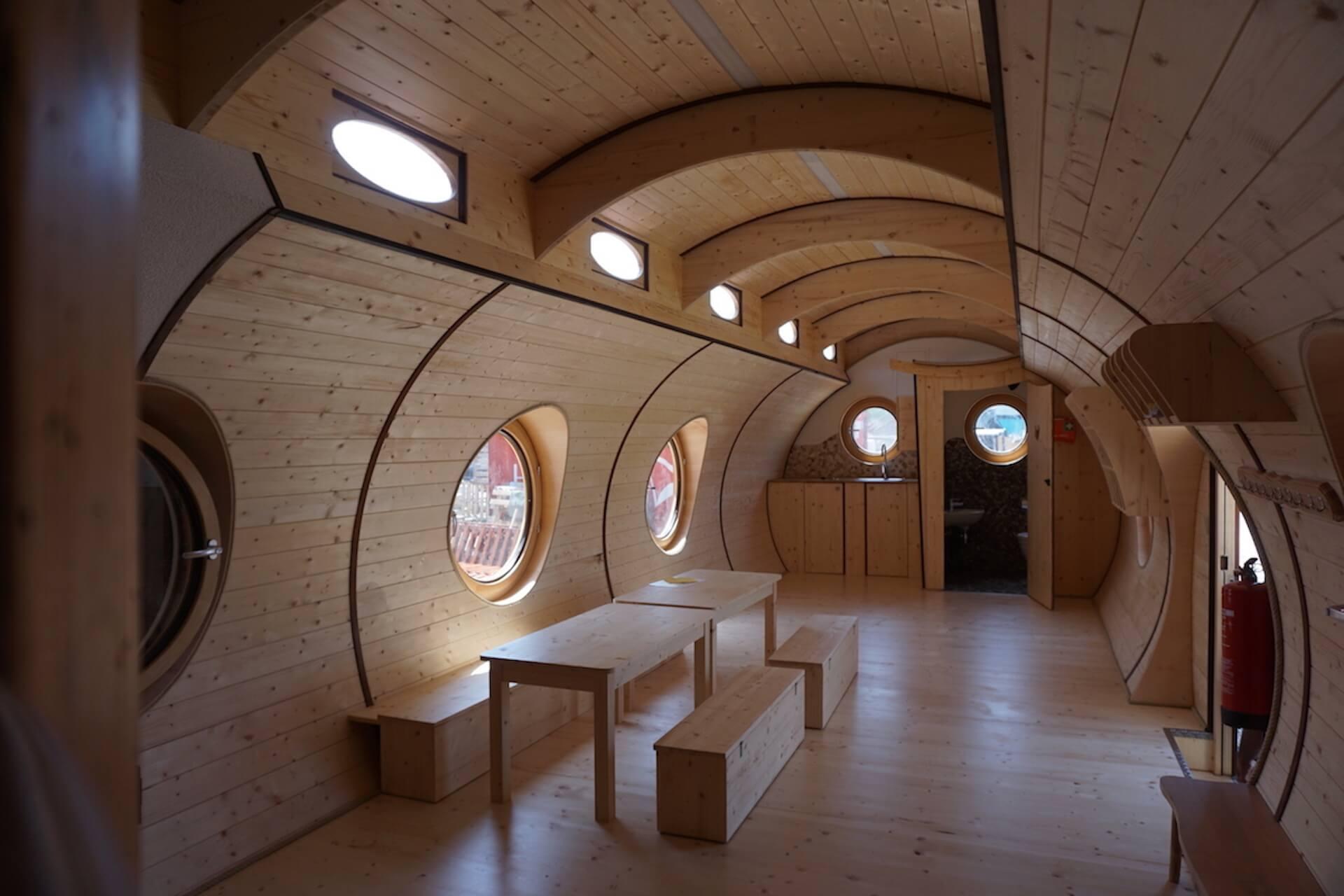 Interior Tiny House, Innenausbau Ferienwohnung