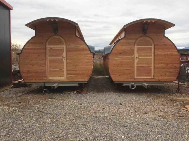 Transport Tiny House, Lieferung Ferienwohnung