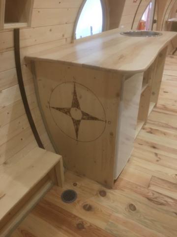 Möbel Dekoration für Kinder, Holzmöbel im Kindergarten